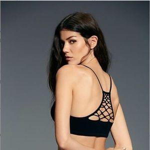 Free People Intimates & Sleepwear - Free People Lattice Racerback Bralette Size M/L